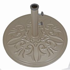 Cast Aluminum Free Standing Umbrella Base