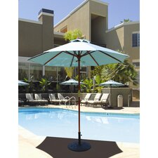7.5' Wood Market Umbrella