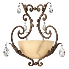 <strong>Fredrick Ramond</strong> Barcelona Large 1 Light Wall Sconce