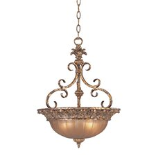 <strong>Fredrick Ramond</strong> Naples 3 Light Inverted Pendant