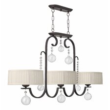 <strong>Fredrick Ramond</strong> Prosecco Island 3 Light Chandelier