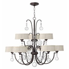 Prosecco 9 Light Chandelier