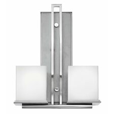<strong>Fredrick Ramond</strong> Mondo Soho 2 Light Wall Sconce