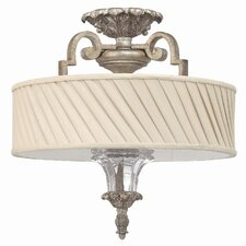 <strong>Fredrick Ramond</strong> Kingsley 3 Light Semi Flush Mount