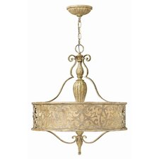 Carabel 3 Light Foyer Pendant