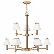 <strong>Fredrick Ramond</strong> Coco 9 Light Chandelier