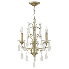 <strong>Fredrick Ramond</strong> Francesca 3 Light Chandelier