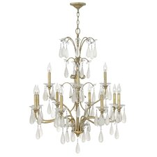 <strong>Fredrick Ramond</strong> Francesca 12 Light Chandelier