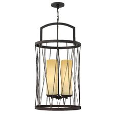 <strong>Fredrick Ramond</strong> Nest 4 Light Foyer Pendant
