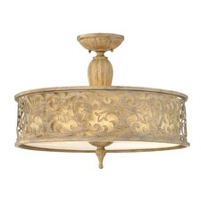 <strong>Fredrick Ramond</strong> Carabel Semi Flush Foyer Pendant