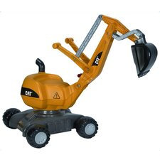 Cat Digger Push Construction Vehicle