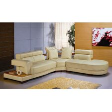 Malachite Leather Sectional