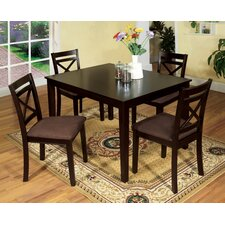 <strong>Hokku Designs</strong> Easton 5 Piece Dining Set