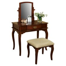 Coreen Vanity & Stool Set
