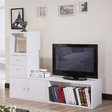 "<strong>Hokku Designs</strong> Marin Modular 4 Piece 47.5"" Storage Bookcase"