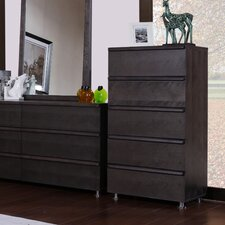 Boma 5 Drawer High Chest
