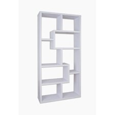 "Masima 71"" Unique Bookcase"