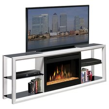 """64"""" TV Stand with Electric Fireplace"""