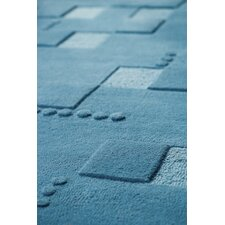 Mat The Basics Doral Blue Area Rug
