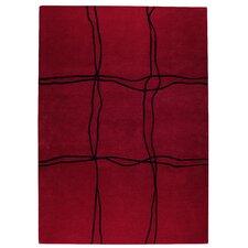 Ticta Red Area Rug