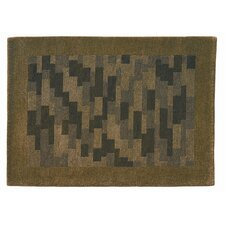 <strong>Hokku Designs</strong> Nule Green Rug