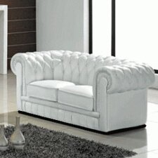 <strong>Hokku Designs</strong> Madeline Leather Loveseat