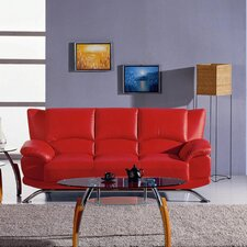 Jaeger Leather Sofa