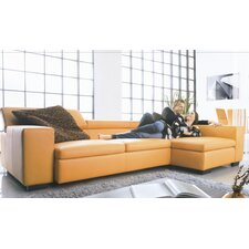 Ever G Right Leather Sectional