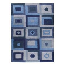 <strong>Hokku Designs</strong> Berlin Blue Rug