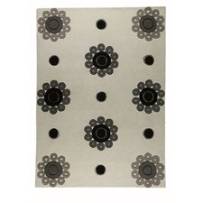 <strong>Hokku Designs</strong> Como White/Grey Rug