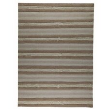 <strong>Hokku Designs</strong> Grenada Beige Striped Rug