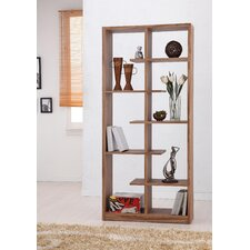 Gian Five-Shelves Bookcase / Display Cabinet in Light Walnut