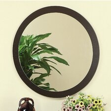 Newbury Wall Mirror in Red Cocoa