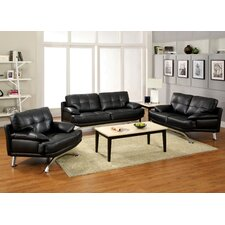 Malibu 3 Piece Living Room Set