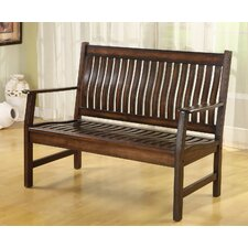 La Conchita Wood Entryway Bench