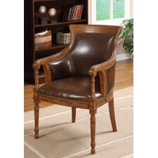 <strong>Hokku Designs</strong> Kirkless Leatherette Executive Arm Chair