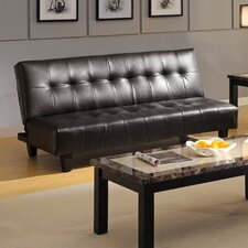 <strong>Hokku Designs</strong> Belmont Leatherette Convertible Sofa