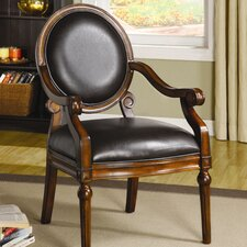 Eagan Leatherette Arm Chair