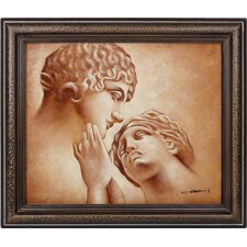 <strong>Hokku Designs</strong> Passion Hand Painted Oil Canvas Art with Frame