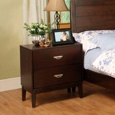 <strong>Hokku Designs</strong> Berkley 2 Drawer Nightstand