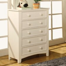 <strong>Hokku Designs</strong> Alyssa 5 Drawer Chest