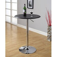 <strong>Hokku Designs</strong> Citizen Leatherette Adjustable Bar Table