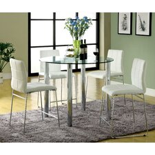 <strong>Hokku Designs</strong> Narbo 5 Piece Counter Height Dining Set