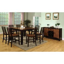 <strong>Hokku Designs</strong> Marion 9 Piece Counter Height Dining Set