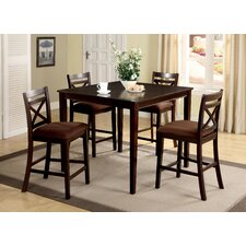 Easton 5 Piece Counter Height Dining Set