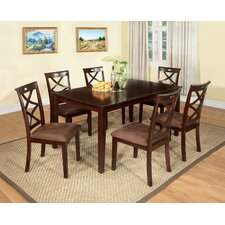 Western 7 Piece Dining Set