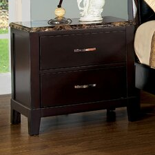 Willow 2 Drawer Nightstand
