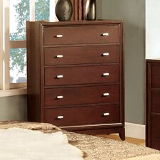 Genevia 5 Drawer Chest