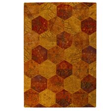 Honey Comb Siena Orange Rug