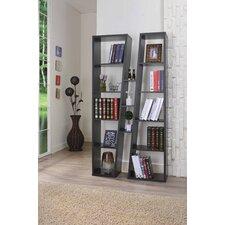 "Metro 70.9"" Twin Tower Bookcase"